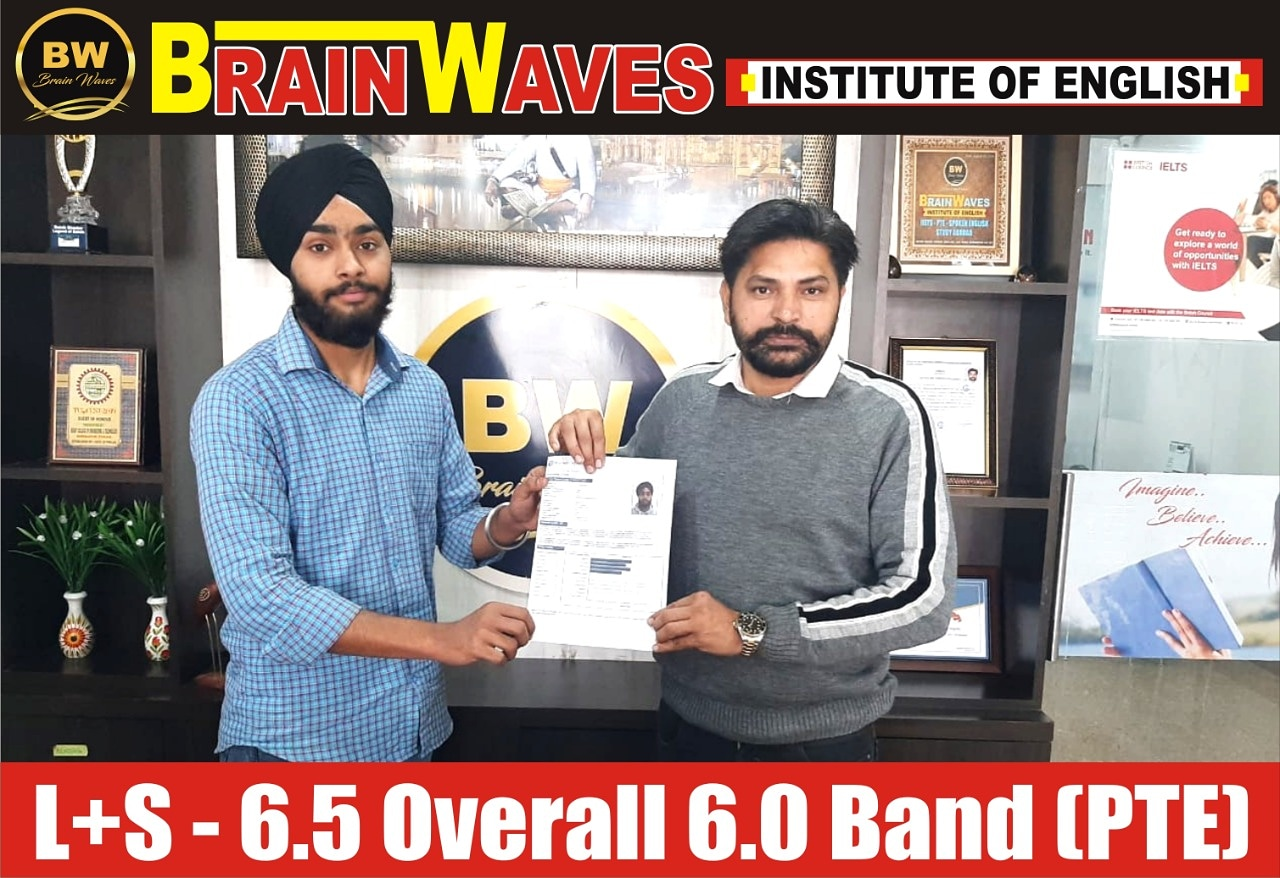 It's another achievement of Brainwaves.